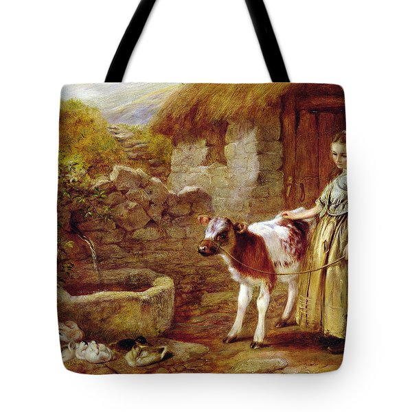 Maggie's Charge Tote Bag by John H Dell