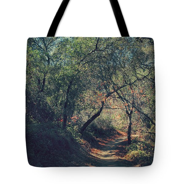 Magic Awaits Us Tote Bag by Laurie Search