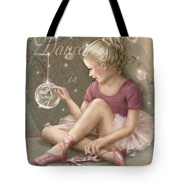 Magic Ballerina Tote Bag by Beverly Levi-Parker