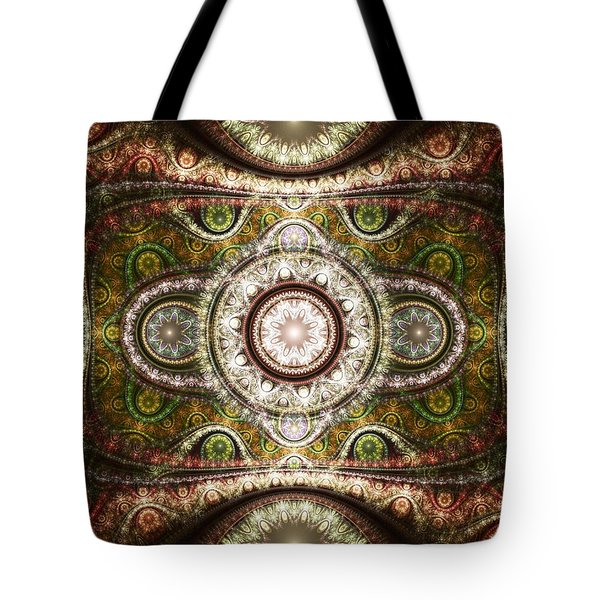Magic Carpet Tote Bag by Anastasiya Malakhova