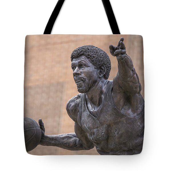 Magic Johnson Statue  Tote Bag by John McGraw