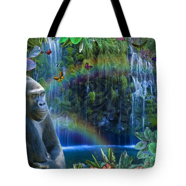 Magic Jungle Tote Bag by Alixandra Mullins
