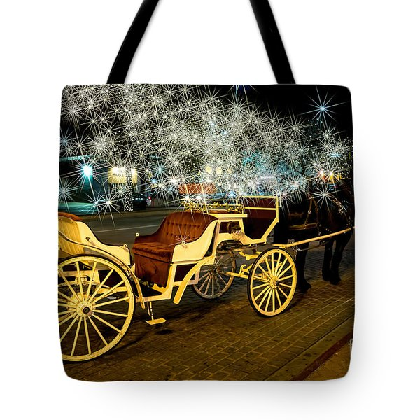 Magic Night Tote Bag by Jon Burch Photography