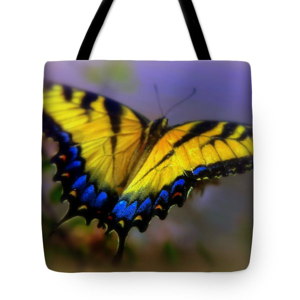 Magic Of Flight Tote Bag by Karen Wiles