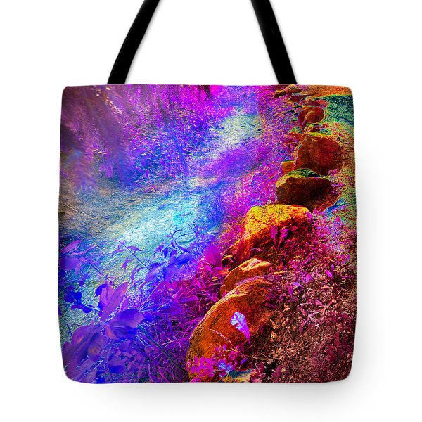 Magic Pathway II Tote Bag by William Beuther