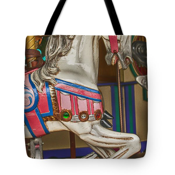 Magical Carrsoul Horse Tote Bag by Garry Gay