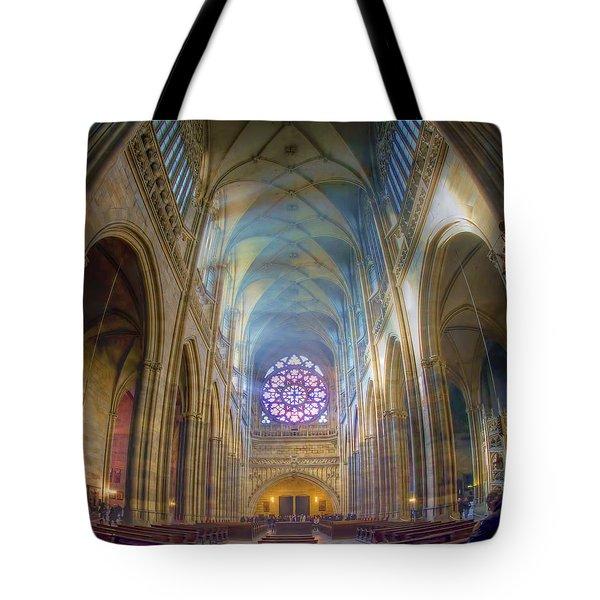 Magical Light Tote Bag by Joan Carroll