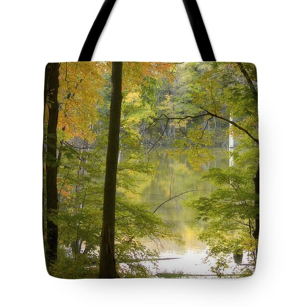 Magical Maplewood Tote Bag by Penny Meyers