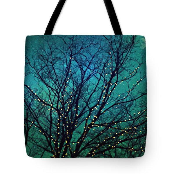 Magical Night Tote Bag by Sylvia Cook