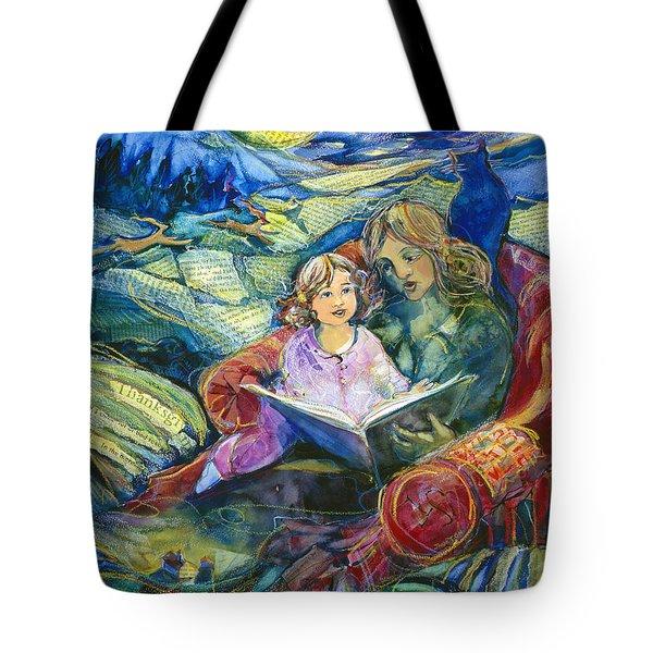 Magical Storybook Tote Bag by Jen Norton