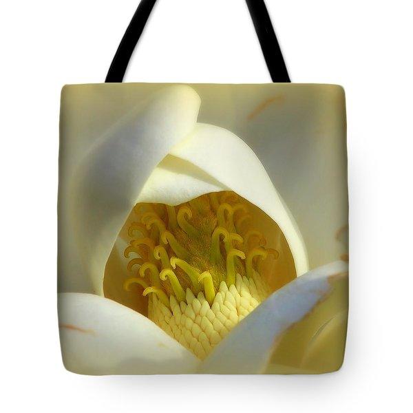 Magnolia Cloud Tote Bag by Karen Wiles
