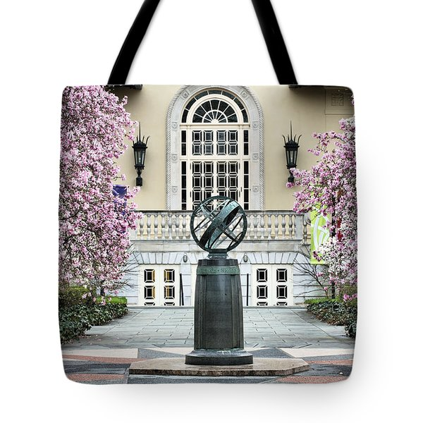 Magnolia Plaza Tote Bag by JC Findley