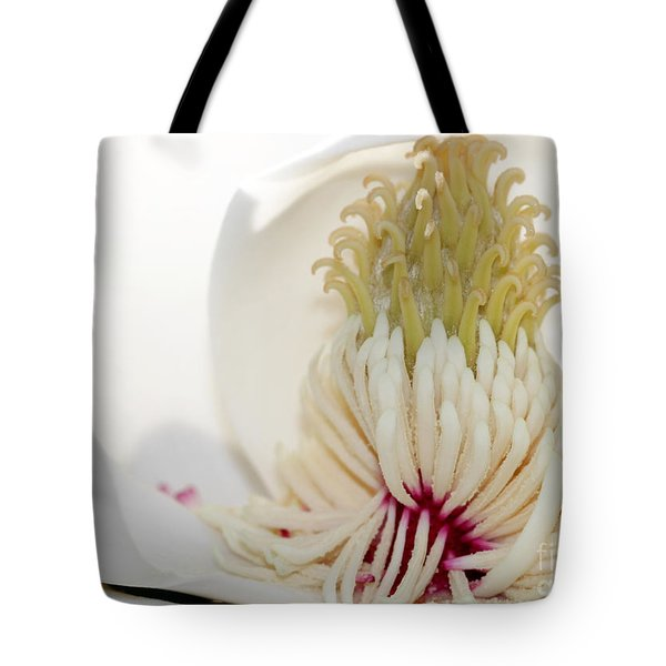 Magnolia Sticky Fingers Tote Bag by Sabrina L Ryan