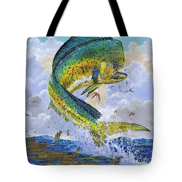 Mahi Hookup Off0020 Tote Bag by Carey Chen