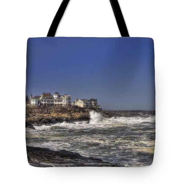 Main Coastline Tote Bag by Joann Vitali