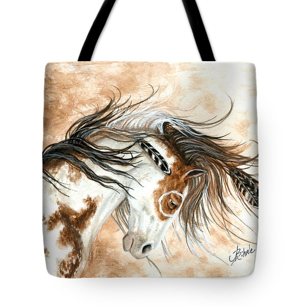 Majestic Horse Series 87 Tote Bag by AmyLyn Bihrle