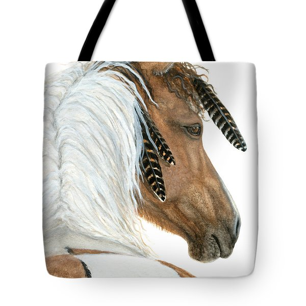 Majestic Horse Series 94 Tote Bag by AmyLyn Bihrle