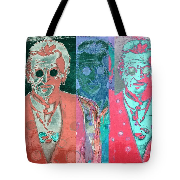 Major Cool Tote Bag by Carol Leigh