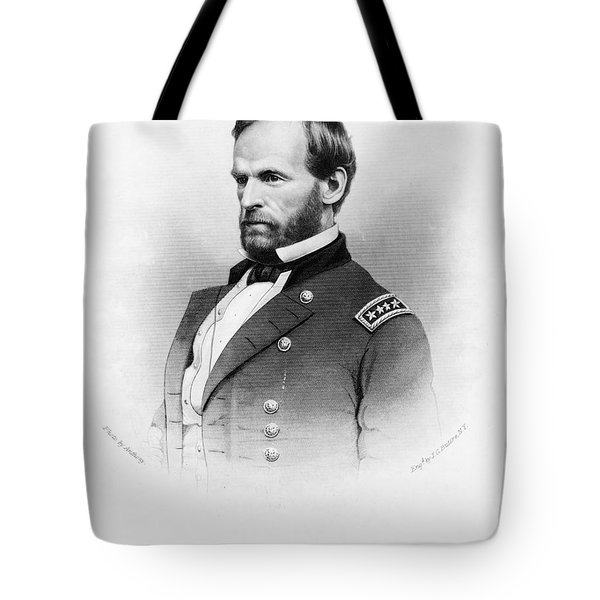 Major General William T Sherman Tote Bag by Mountain Dreams
