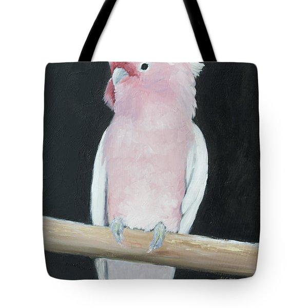 Major Mitchell Cockatoo Tote Bag by Jan Matson