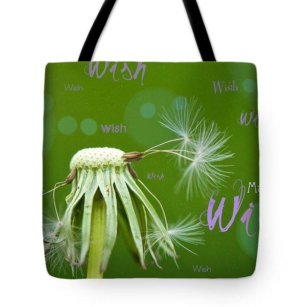 Make a Wish Card Tote Bag by Lisa Knechtel
