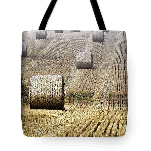 Make Hay While The Sun Shines  Tote Bag by Heiko Koehrer-Wagner