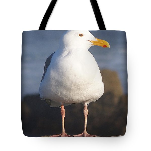Make Sure You Get My Good Side Tote Bag by Barbara Snyder
