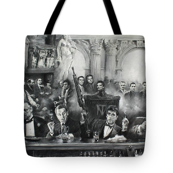 Make Way For The Bad Guys Tote Bag by Ylli Haruni