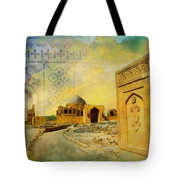 Makli Hill Top Tote Bag by Catf