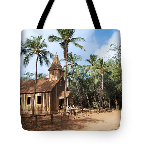 Malamalama Church Tote Bag by Jenna Szerlag