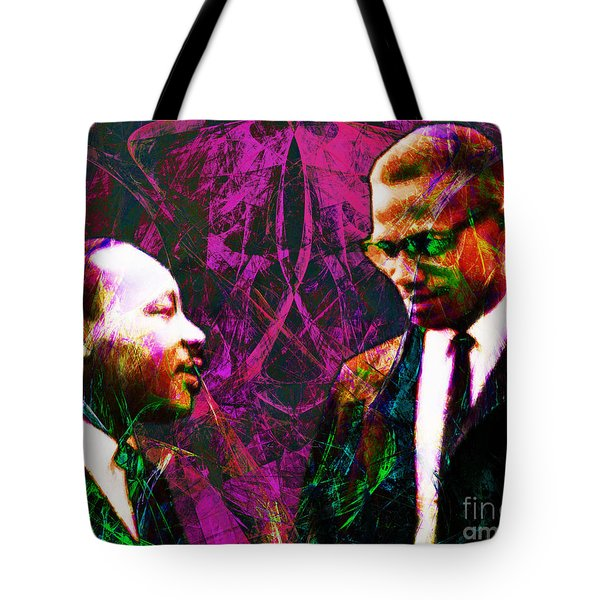 Malcolm and The King 20140205m68 Tote Bag by Wingsdomain Art and Photography