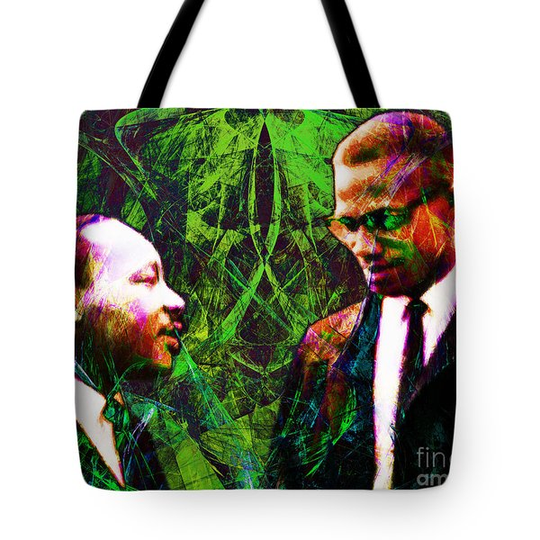 Malcolm And The King 20140205p68 Tote Bag by Wingsdomain Art and Photography