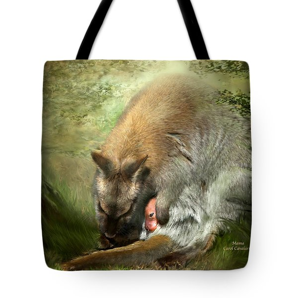 Mama Tote Bag by Carol Cavalaris