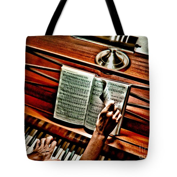 Momma's Hymnal Tote Bag by Robert Frederick