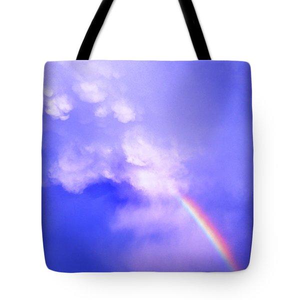Mammatus Rainbow Of New Mexico Tote Bag by Jason Politte