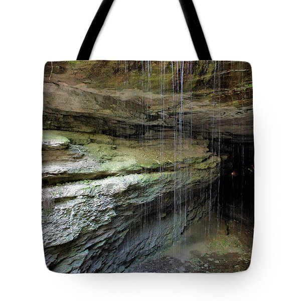 Mammoth Cave Entrance Tote Bag by Kristin Elmquist