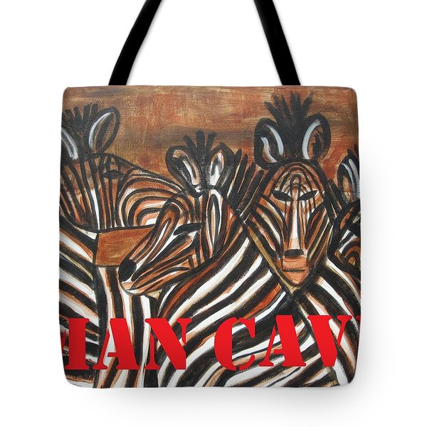 Man Cave Tote Bag by Diane Pape