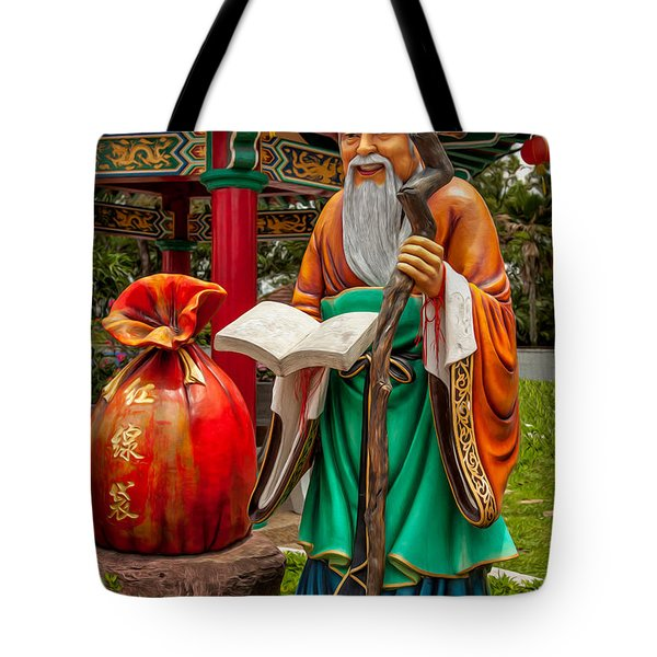 Man Under The Moon Tote Bag by Adrian Evans