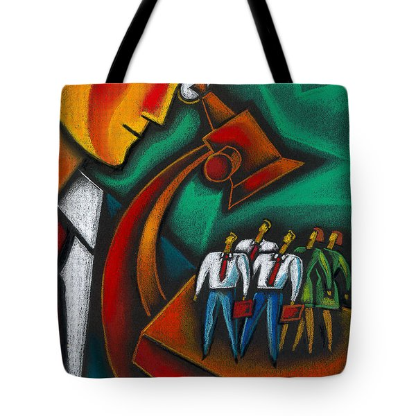 Manager Tote Bag by Leon Zernitsky