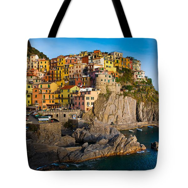 Manarola Tote Bag by Inge Johnsson