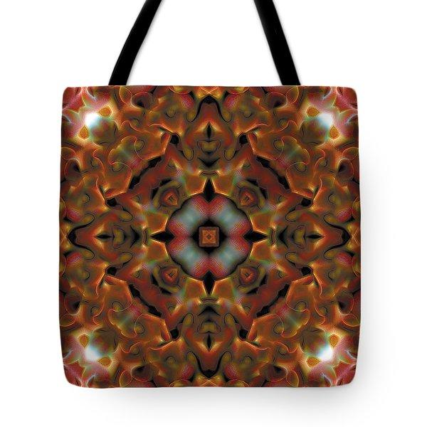 Mandala 119 Tote Bag by Terry Reynoldson