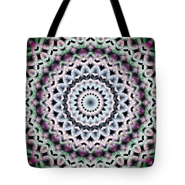 Mandala 40 Tote Bag by Terry Reynoldson