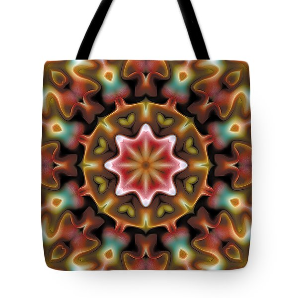 Mandala 92 Tote Bag by Terry Reynoldson