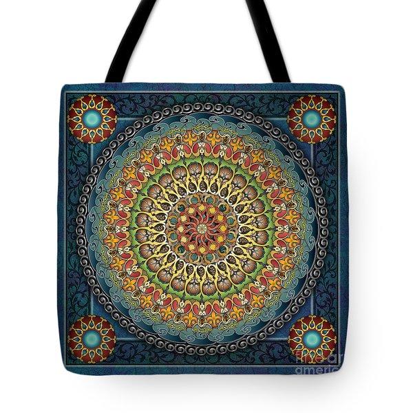 Mandala Fantasia Tote Bag by Bedros Awak