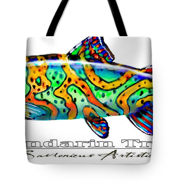 Mandarin Trout Savlenicus Artisticus Tote Bag by Mike Savlen