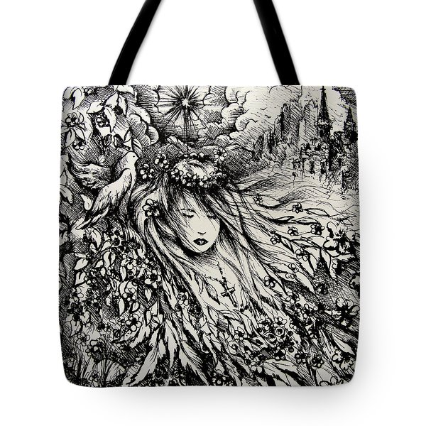 Mandee's Dream Tote Bag by Rachel Christine Nowicki