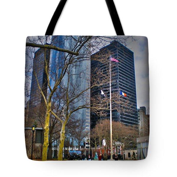 Manhattan Tote Bag by Claudia Mottram