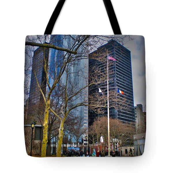 Manhattan Tote Bag by Claudia Mottram