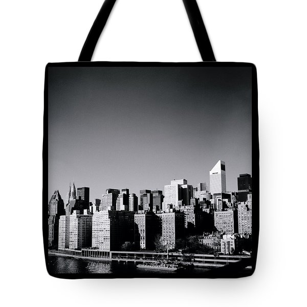 Manhattan Tote Bag by Shaun Higson