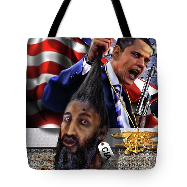 Manifestation Of Frustration - I Am Commander In Chief - Period - On My Watch - Me And My Boys 1-2 Tote Bag by Reggie Duffie